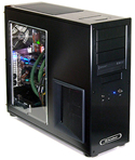ATX desktop PC case with transparent side