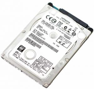 Dead laptop - Hitachi Travelstar 2.5-inch SATA laptop hard disk drive