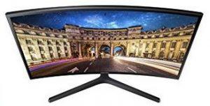 Samsung C24F396FHU 24-inch curved monitor