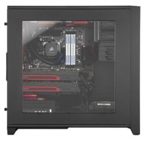 Corsair CC-9011029-WW Obsidian Series 350D liquid-colled micro-ATX case