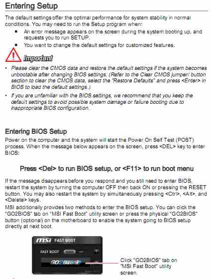 UEFI BIOS and the Standard Legacy BIOS - PC Buyer Beware!