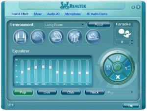 Realtek-sound-control-panel