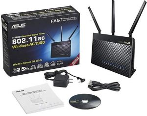 ISP modem routers - ASUS RT-AC68U AC1900 AiMesh Dual-Band Gigabit Wireless Dedicated Router
