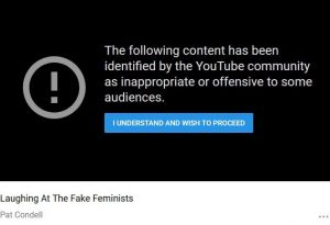 Google discrimination - Almost all political content is seen as offensive or inappropriate by this or that sector of a society, but Google on;y uses this method to negate non-liberal content