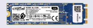 Crucial SSD card drive for the M.2 motherboard slot