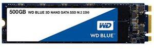 M.2 SSD drives - 500GB WD Blue 3D NAND SATA M.2 2280 SSD drive