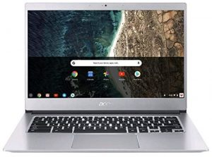 Acer Chromebook 14 CB514-1H - Intel Celeron N3350 processor, 4GB RAM, 32GB SSD, 14 inch HD display, Chrome OS