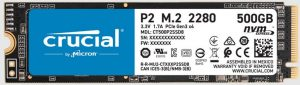 Crucial P2 500GB PCIe M.2 NVMe 2280 SSD