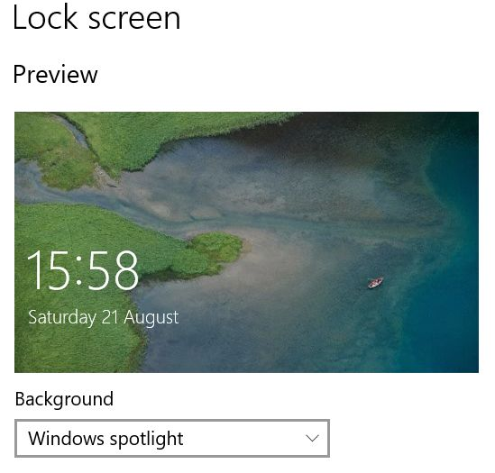 Lock screen image produced by Edge on August 21, 2021